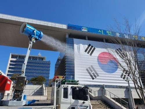 La padovana Idrobase sanifica lo stadio di incheon, in Corea
